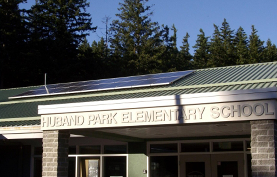 Huband Park Elementary School Solar Electric