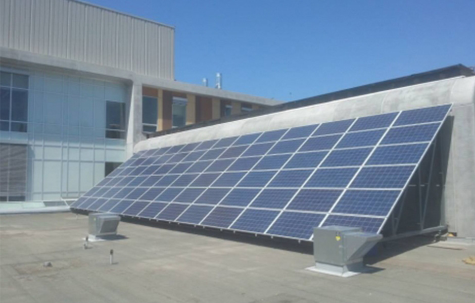 St. Mary's Hospital Solar Electric System