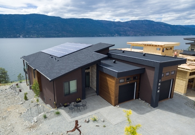 Lake Country home solar.