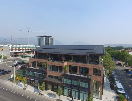 Kelowna Commercial Building Adds Solar