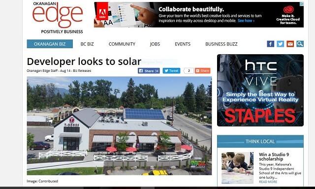 News article featuring Terratek Energy